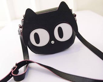 Kawaii Black Cat Bag