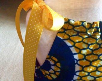BEAUTIFUL AFRICAN Print Embroidered  PILLOWCASE Girls Dress. Party dress, church dress, spring dress, Summer wear, great gift idea.