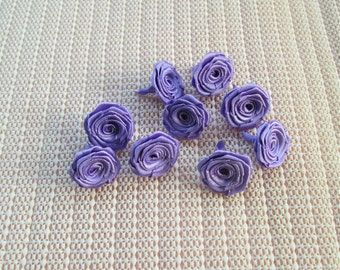 50 Ribbon Origami Roses - Purple Color, on ly for 8.00 usd