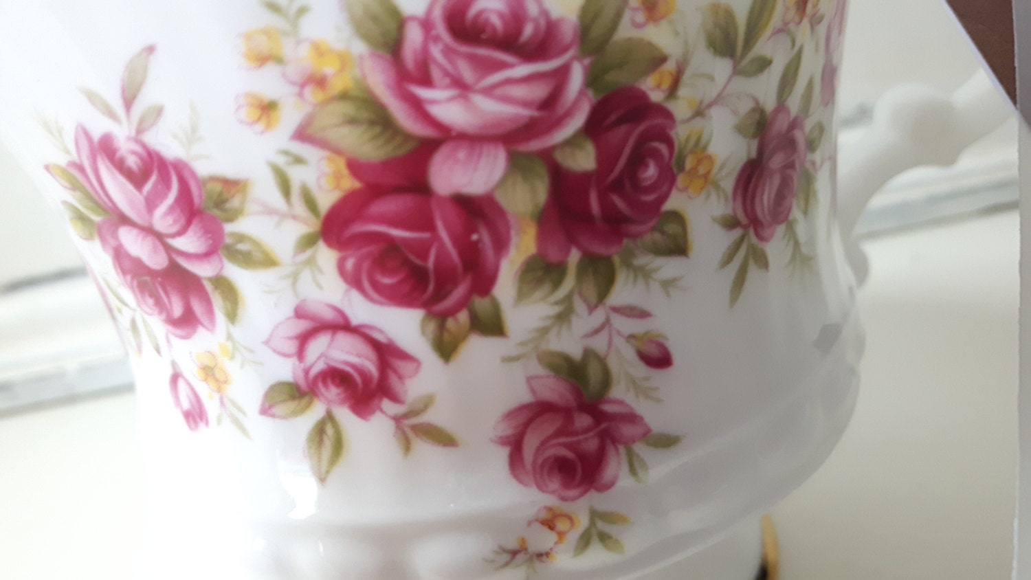 Hand poured scented soy wax vegan vintage milk jug candle, scented with rhubarb and blackberry. Mother's Day candle