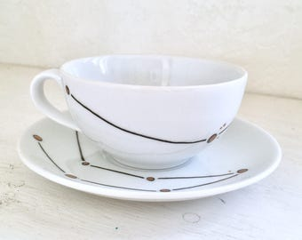 Custom Constellations Teacup and Saucer