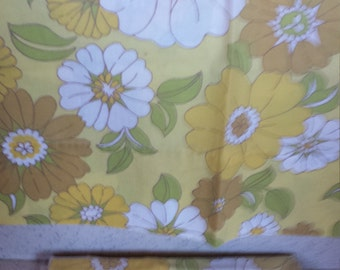 Flower Power Vintage Pillowcases 70's