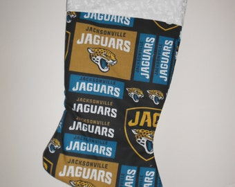 Jacksonville Jaguars Christmas stocking