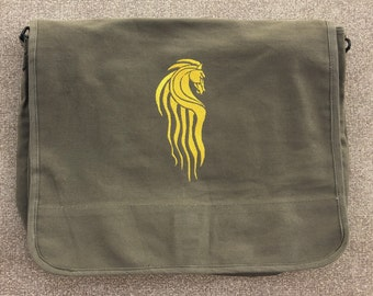 Lord of the Rings Riders of Rohan Embroidered Messenger Bag