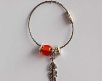 Key ring Orange