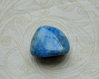 Ajoite in quartz tumblestone Metaphysical Crystal (0499) uplifting