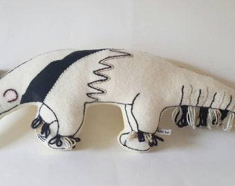 Alice Anteater Cream Decorative Cushion