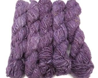 Vegan Banana Silk Yarn, Violet