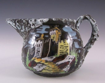 San Marino Ceramica Titano Italian Ceramic Creamer / Jug