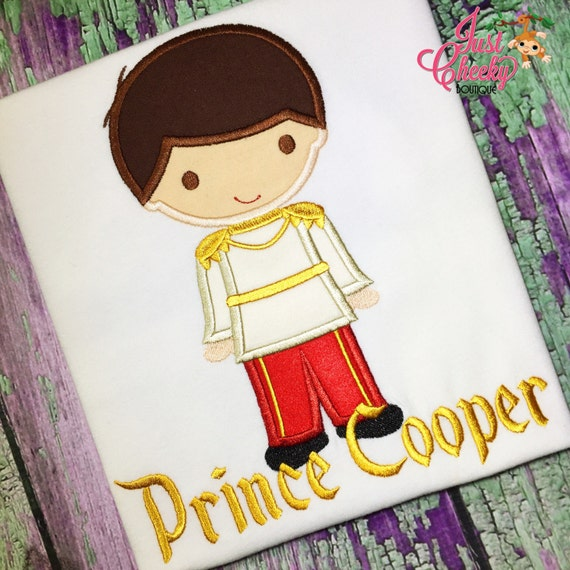 Prince Charming Cutie Embroidered Shirt - Cinderella Inspired - Disney Vacation - 1st Disney Trip - Disney Birthday