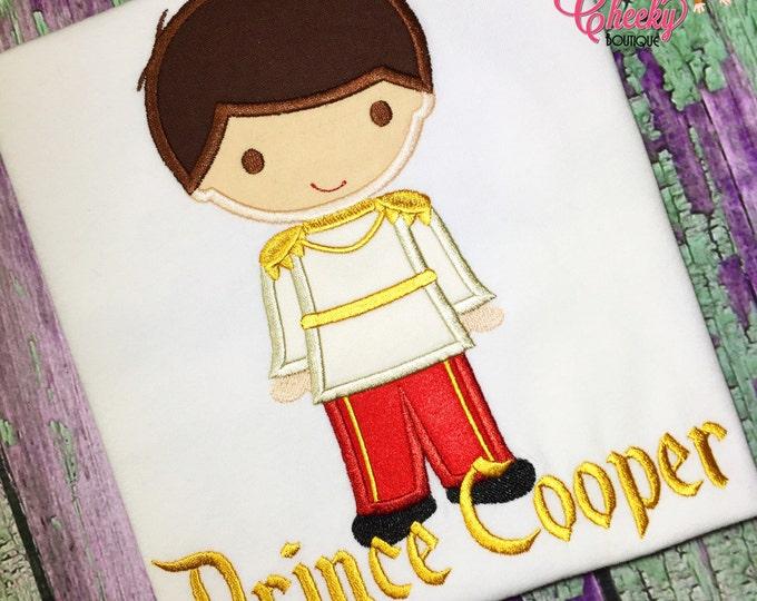 Prince Charming Cutie Embroidered Shirt - Cinderella Inspired - Disney Vacation - 1st Disney Trip - Disney Birthday
