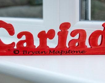 Cariad word