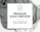 Premade Logo Preview - Get a Sneak Peek of Any Leesa Dykstra Designs Premade Logo With Your Information