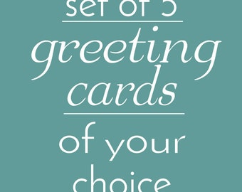 Set of 5 Greeting cards of your choice!- Paper cut art greeting cards  - Blank folded greeting card set - Papercutting cards Papercut