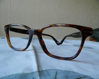 Rare Persol   PO 3003-V - 24     52-18      145  Eyeglasses  Frame  Suprema Havana. Made in Italy.
