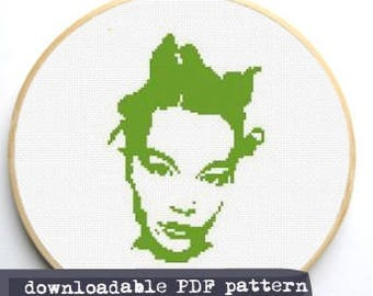 "Counted Cross Stitch Pattern ""Bjork"""