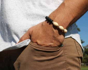Classic Onyx Men's celebrity bracelet
