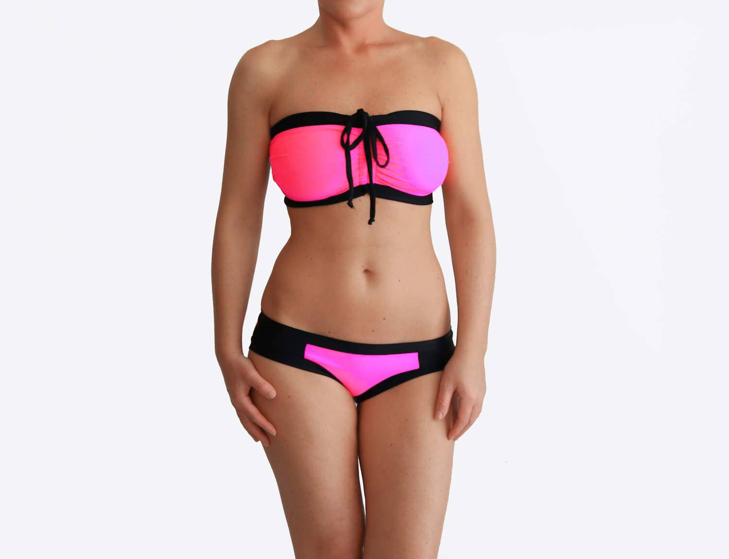 neon pink bikini best ddd swimsuit g cup bathing suit high. Black Bedroom Furniture Sets. Home Design Ideas