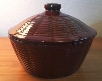 J.C. Ovenproof Bean Pot
