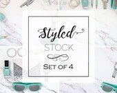 Set of 4 Styled Stock Pho...