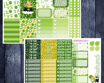 St. Patrick's Day Kit for Happy Planner