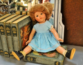 Vintage 1950's Effanbee Doll