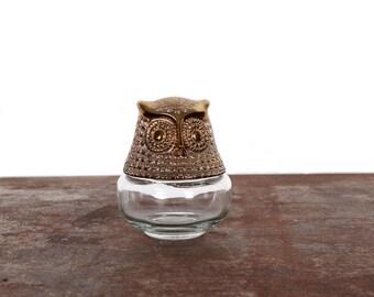 Vintage Owl Avon Bottle
