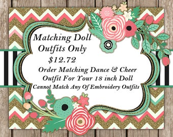 Buy Matching Doll Outfit to Match Your Outfit