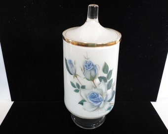 Beautiful Glass Container with Lid