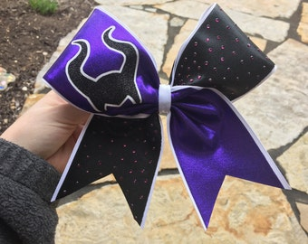 Maleficent Cheer Bow