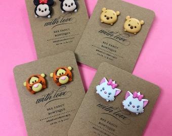 Tsum Tsum Inspired Earrings