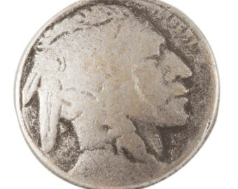 "JH90552 or JH90558 -  Indian Head Button, size 3/4 "" and 5/8"""