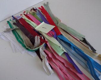 Vintage Zipper lot