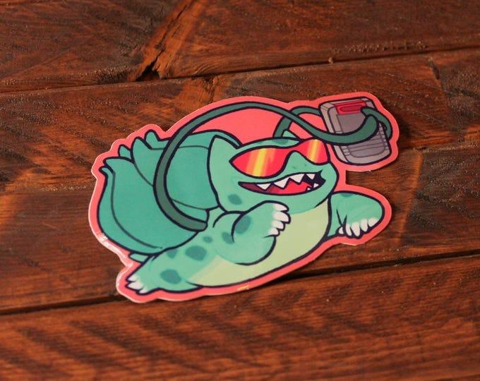 90s Kid Bulbasaur Sticker