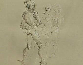 Leonor Fini original lithograph signed and numbered