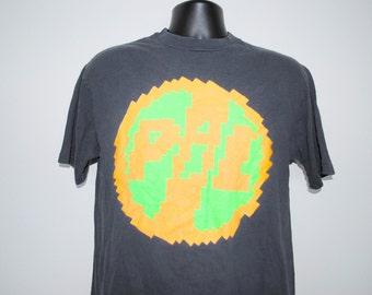 1989 Public Image Limited 9 Rare Vintage 80's P.I.L. John Lydon Post Punk Band T-Shirt