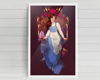 A Tale As Old As Time signed 11x17 Poster