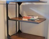 Custom Order for Daniel - Floating Shelf and Rolling Cart
