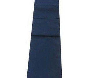 Navy Blue Table Runner Linen Cotton Feel / Poly Mix