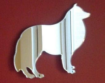 Collie Dog Mirror - 5 Sizes Available