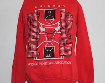 Vintage Chicago Bulls NBA Crewneck Sweatshirt