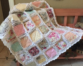French Roses Fusion Quilt