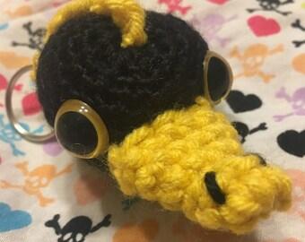Crocheted Niffler Inspired Keychain