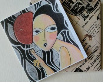 Greeting Card -Hand made in the studio by Samantha Thompson