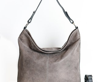 Brown leather bag ,Brown leather hobo bag ,Brown leather purse , women bags,  Brown leather bag , leather shoulder bag , crossbody bag