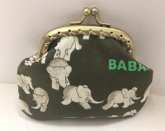 Babar Elephants Coin Purse