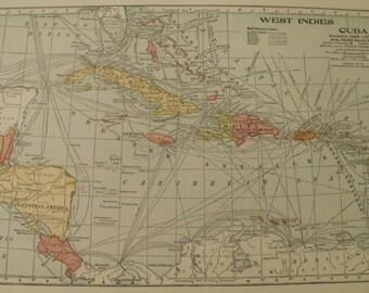 Uk england europe etsy west indies mapeurope mapcuba british isles ireland scotland england france austria spain gumiabroncs Gallery