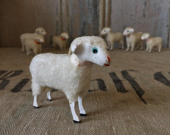 Vintage Wool Sheep