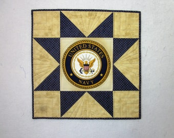 United States Navy Wall Hanging Quilt,