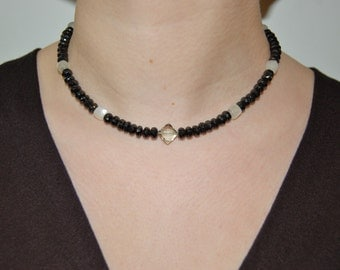 Light and Dark Necklace